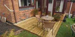 Decking by Davis Land and Sea